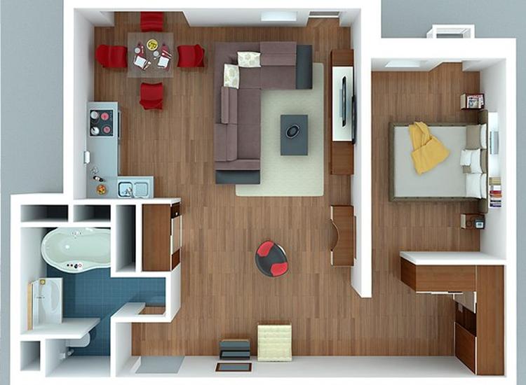 Что входит в проект дизайна квартиры 165